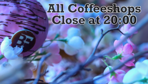 All coffeeshops in amsterdam close at 20:00