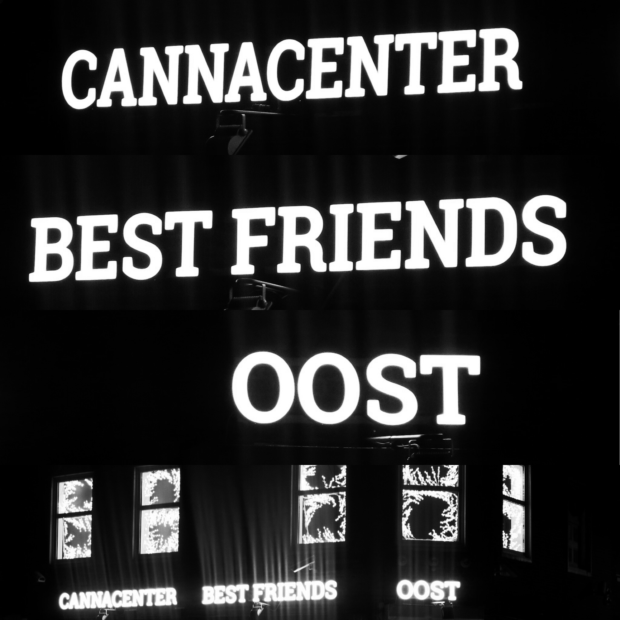 gevel coffeeshop cannacenter Best Friends Amsterdam